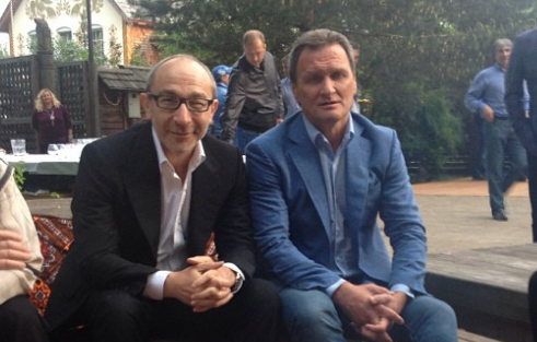Геннадій Кернес та Олександр Шишкін. Фото: instagram.com/gepard59