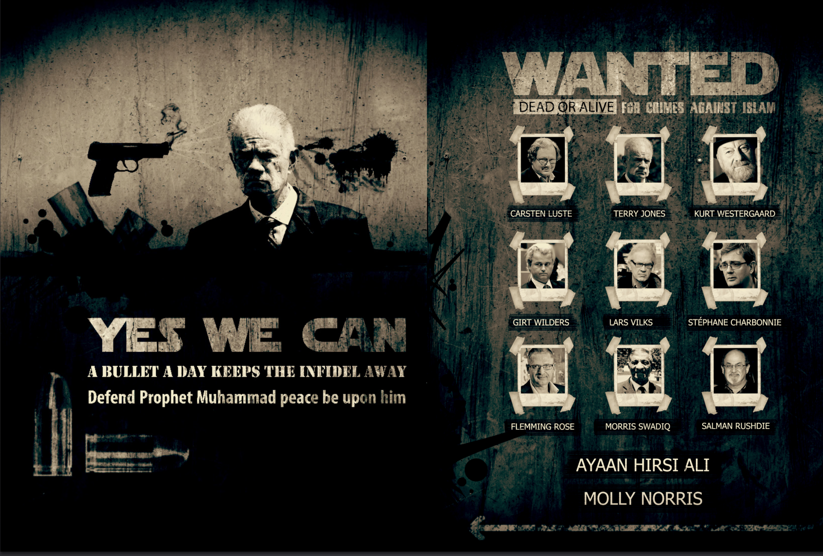 Список «Wanted: Dead or Alive» из журнала Inspire