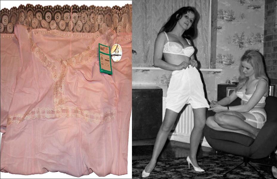 панталоны женские длинные советского времени фото