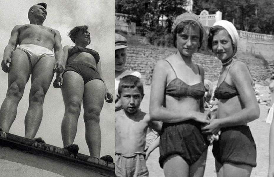 ebe6c226dde64 Советские девушки, 1936 год