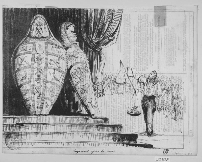 Honore Daumier, lithograph, 1835, King Louis-Philip.