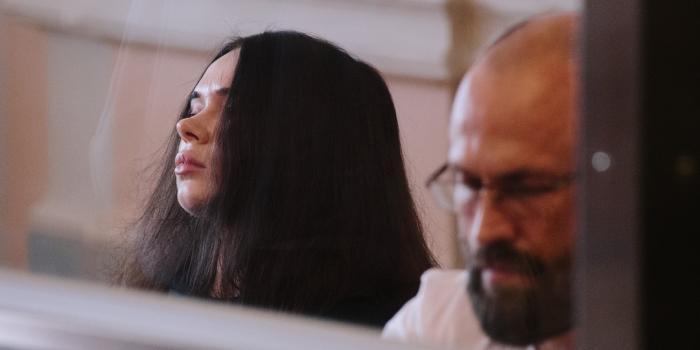 Олена Зайцева на засіданні Харківського апеляційного суду. Фото: mediaport.ua