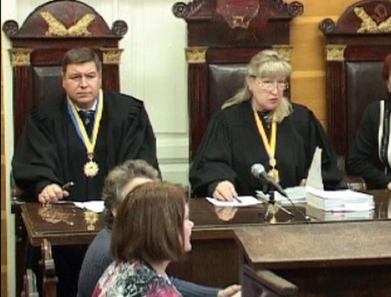 Владислав Єгупенко у Червонозаводському суді. Скріншот: mediaport.ua