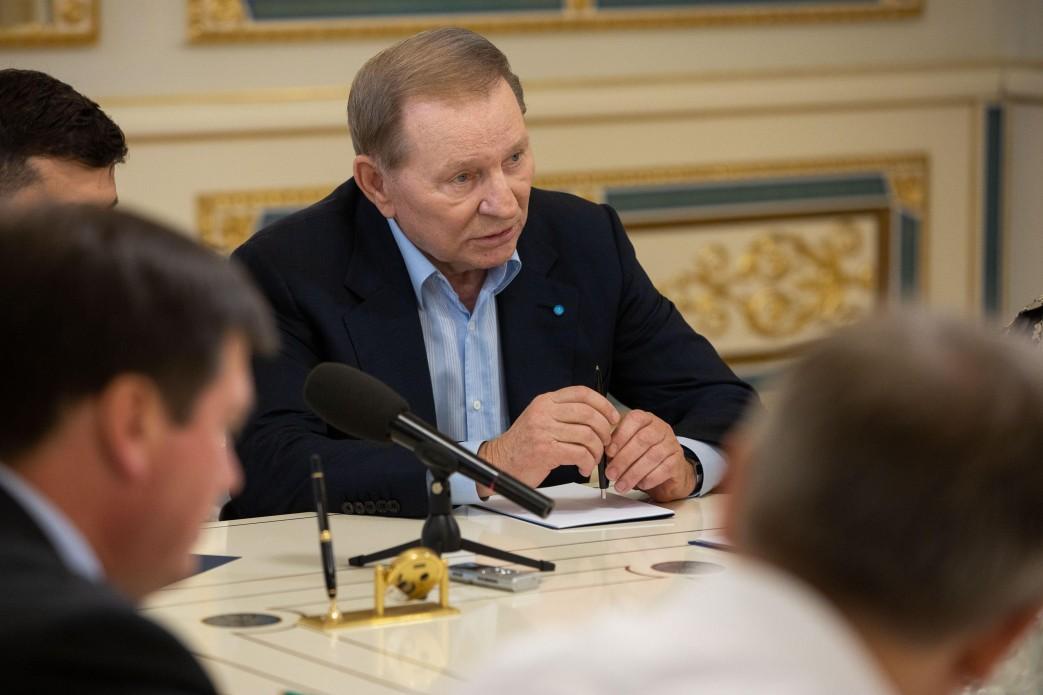 Леонід Кучма в Адміністрації президента, 3 червня. Фото: president.gov.ua